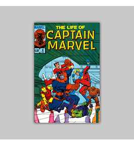 The Life of Captain Marvel 4 1985