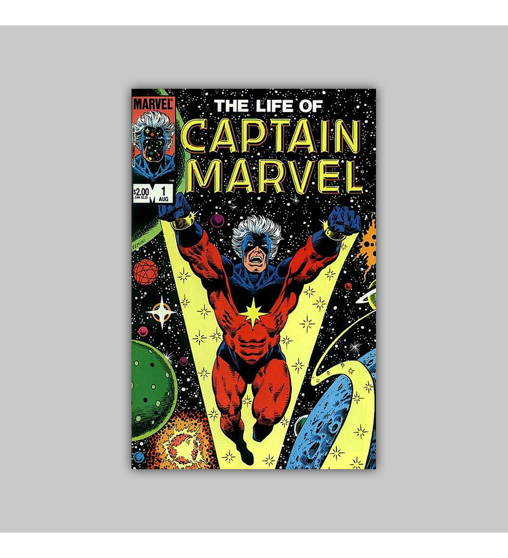 The Life of Captain Marvel 1 1985