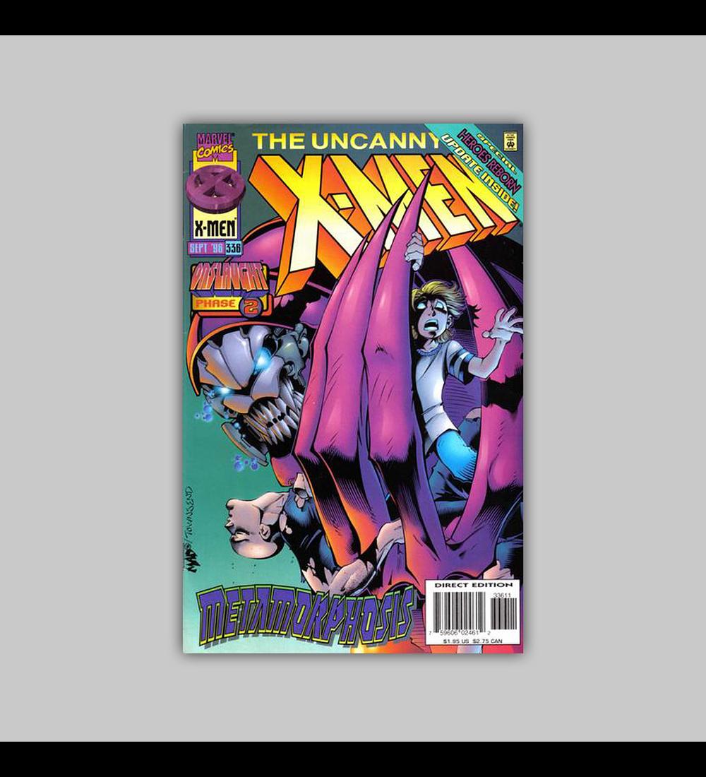Uncanny X-Men 336 1996