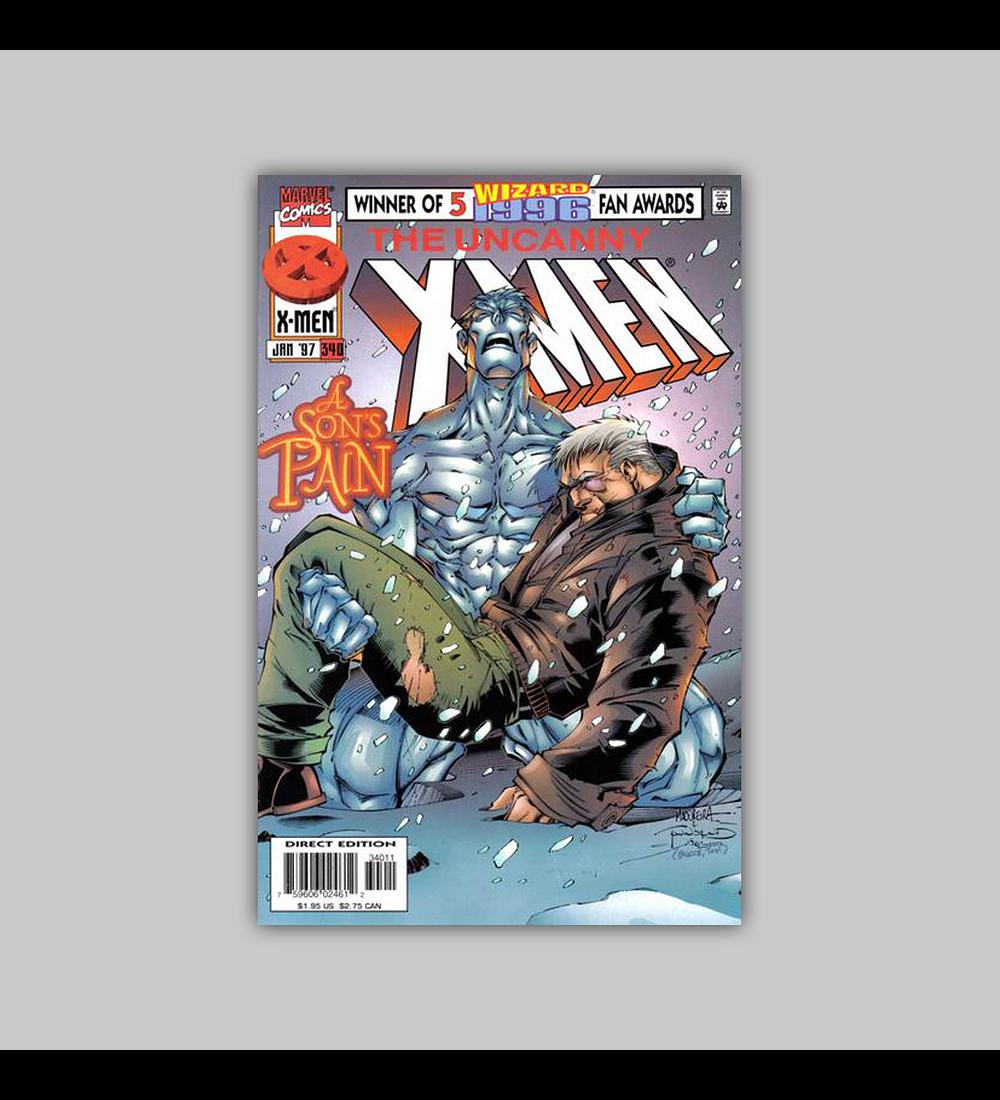 Uncanny X-Men 340 1997