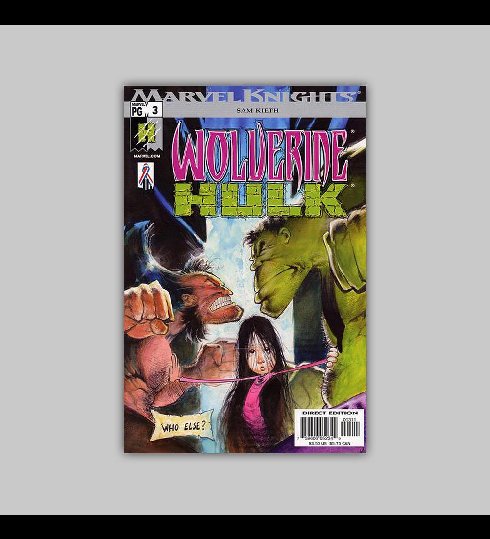 Wolverine/Hulk 3 2002