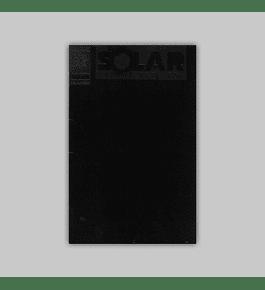 Solar, Man of the Atom 10 Black embossed 1992