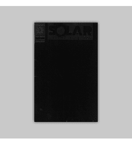 Solar, Man of the Atom 10 Black embossed 2nd printing 1992