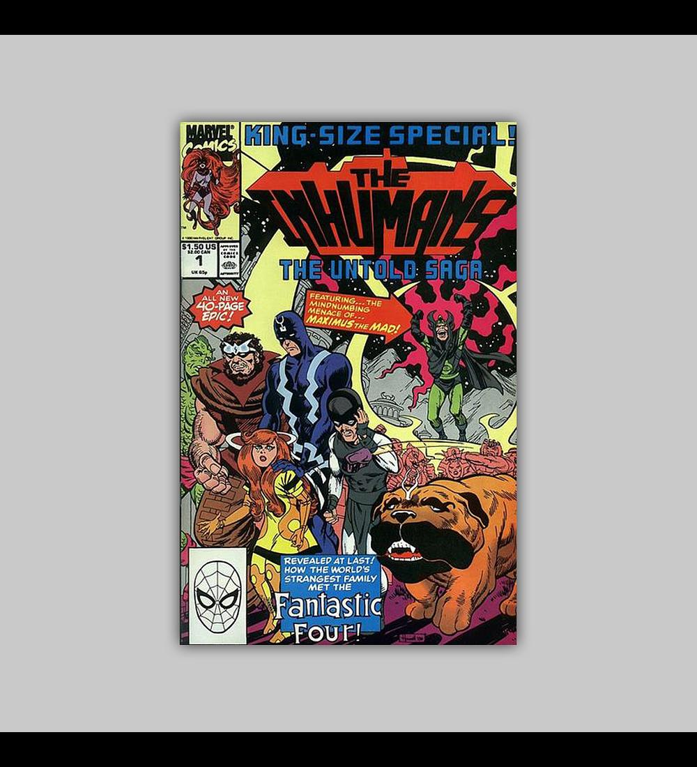 Inhumans The Untold Saga 1 1990