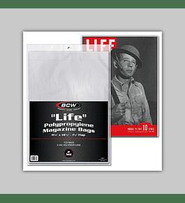 """Life"" Magazine Bags (100)"