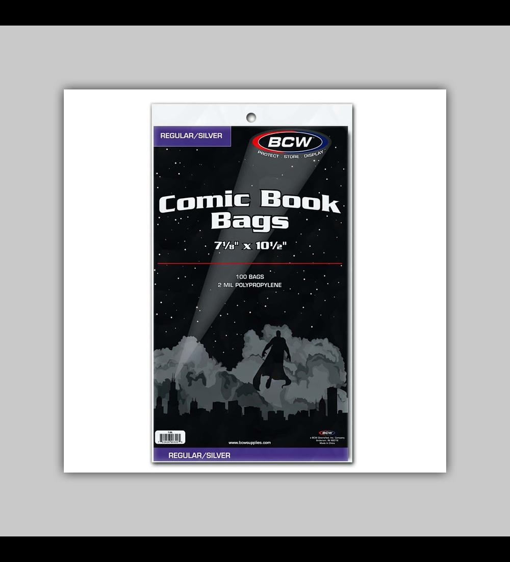 Silver Comic Book Bags (100)