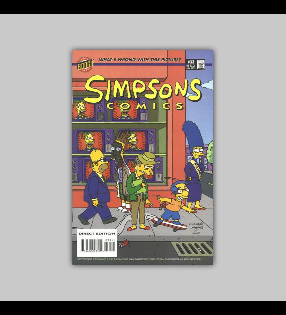 Simpsons Comics 33 1997