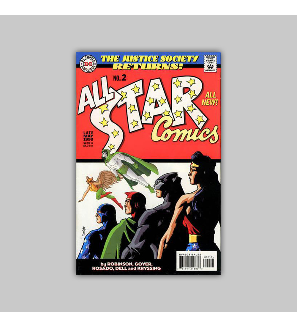All Star Comics (complete limited series) 1999