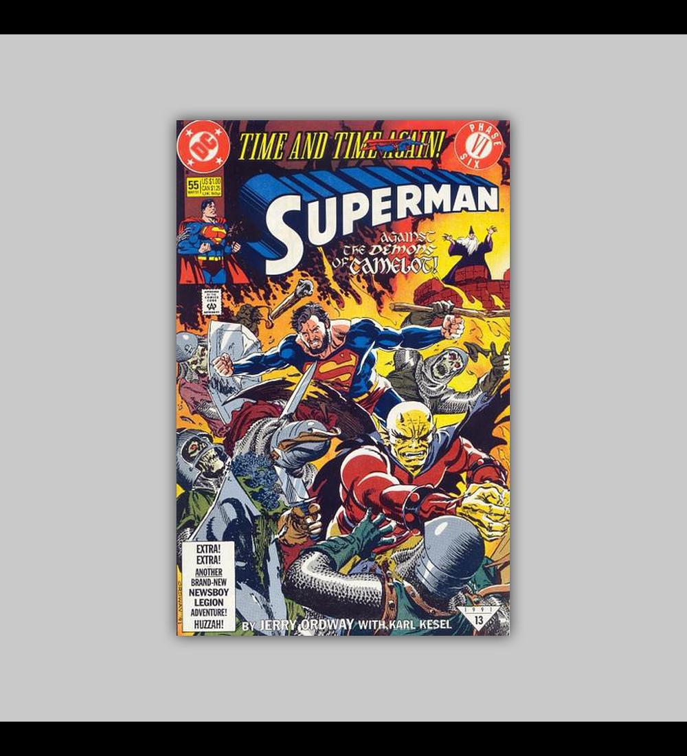 Superman (Vol. 2) 55 1991