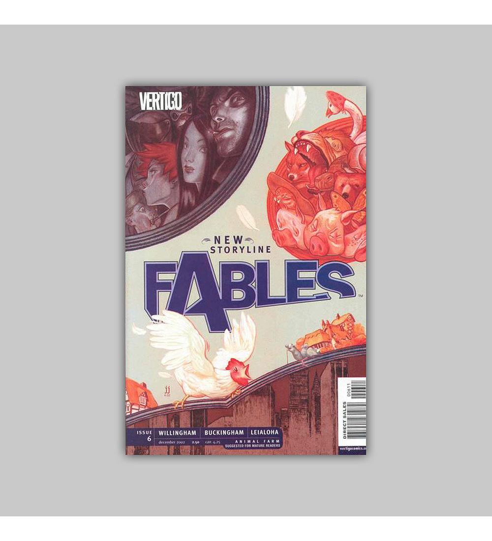 Fables 6 2002