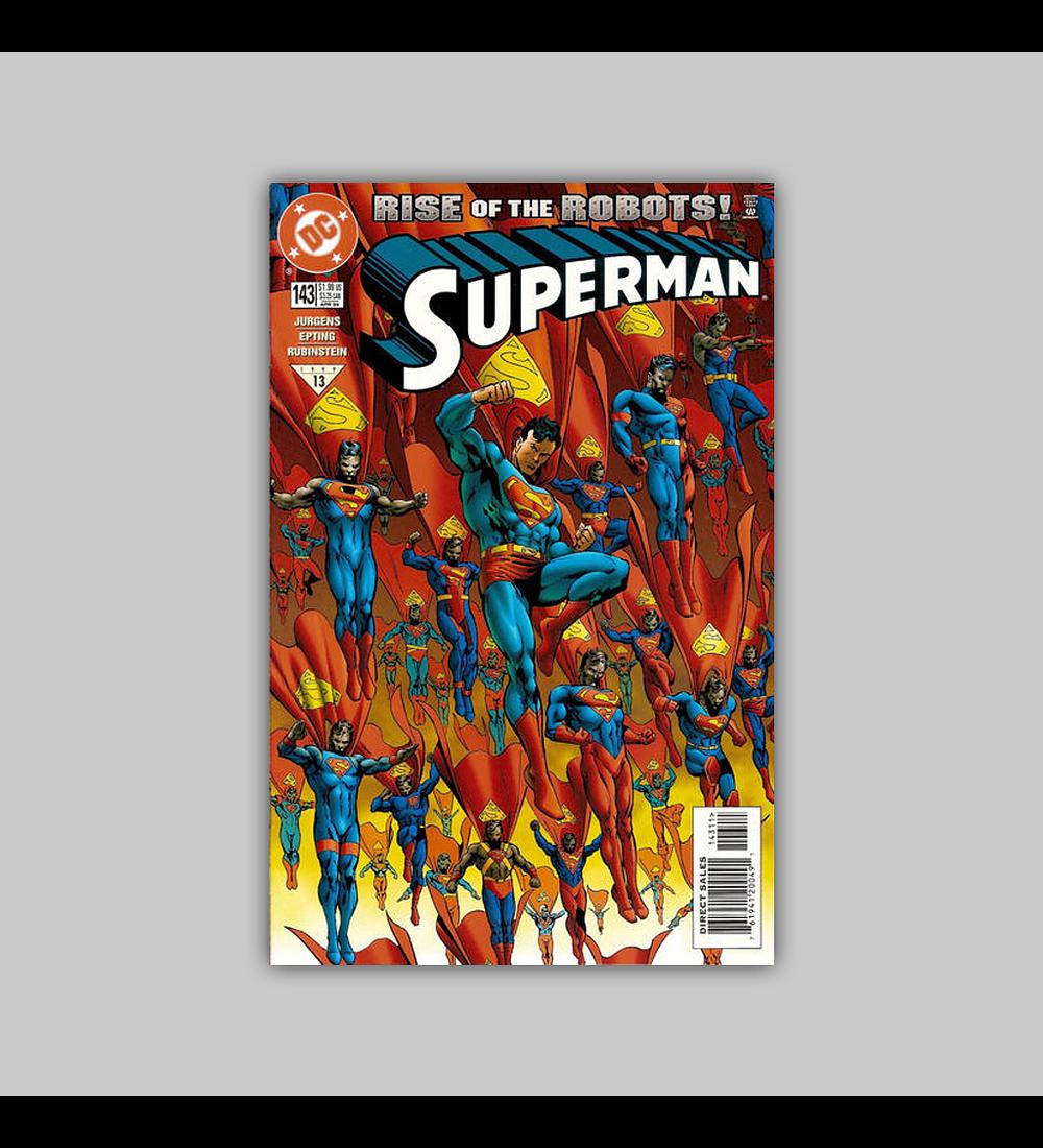 Superman (Vol. 2) 143 1999