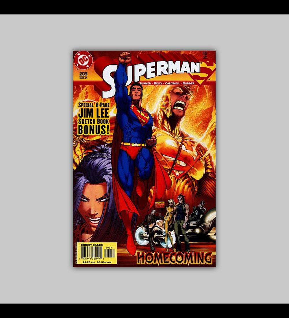 Superman (Vol. 2) 203 2004