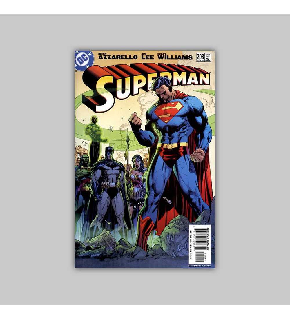Superman (Vol. 2) 208 2004