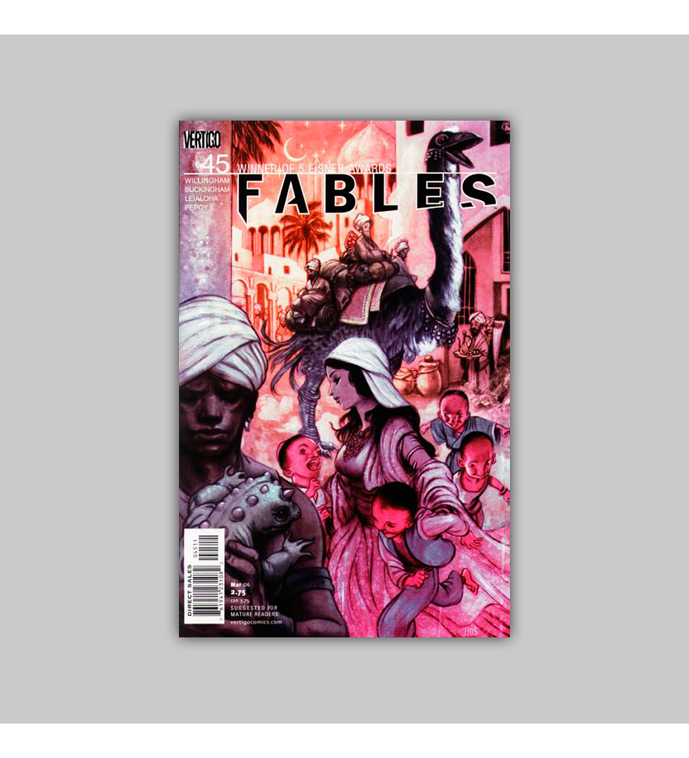 Fables 45 2006