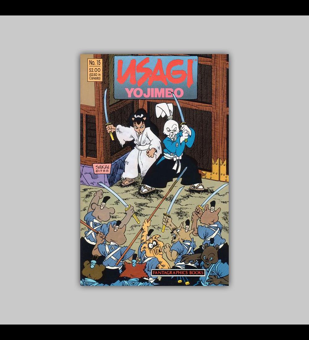 Usagi Yojimbo 15 1989