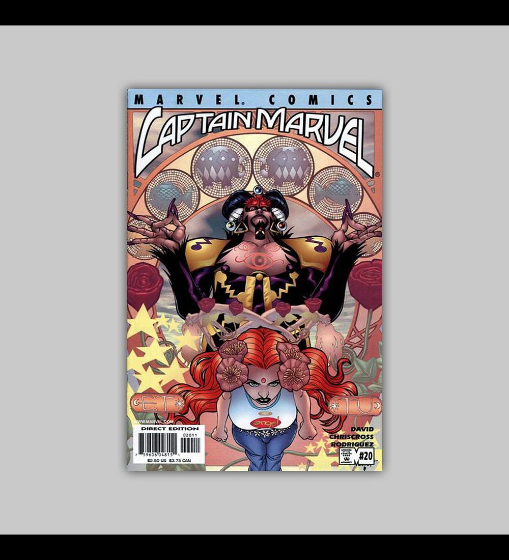 Captain Marvel (Vol. 3) 20 2001