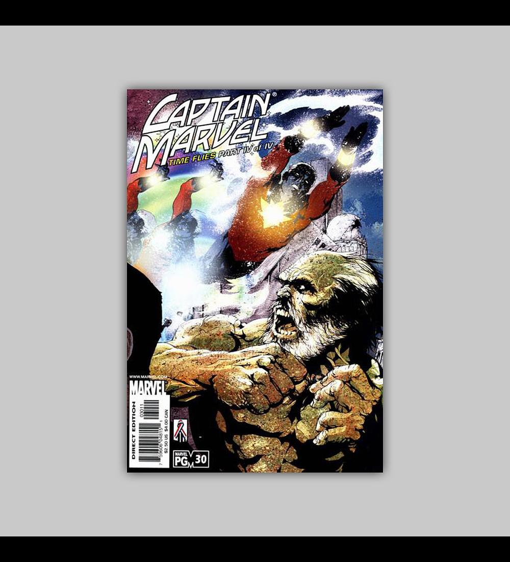 Captain Marvel (Vol. 3) 30 2002