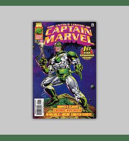 The Untold Legend of Captain Marvel 1 1997