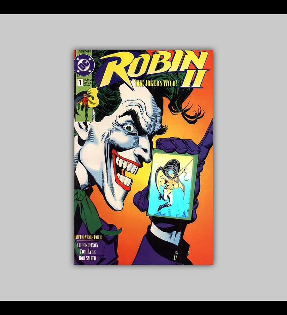 Robin II: The Joker's Wild! 1 D Hologram 1991