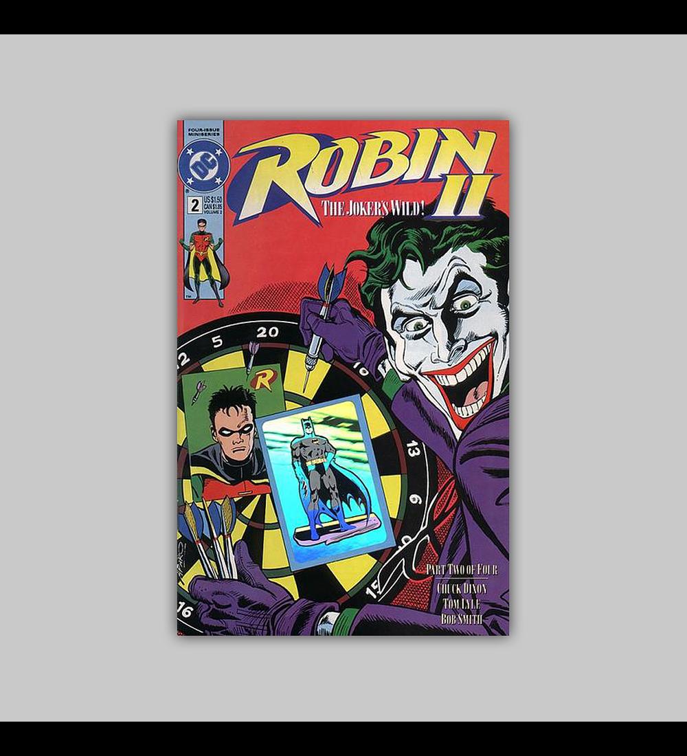Robin II: The Joker's Wild! 2 B Hologram 1991