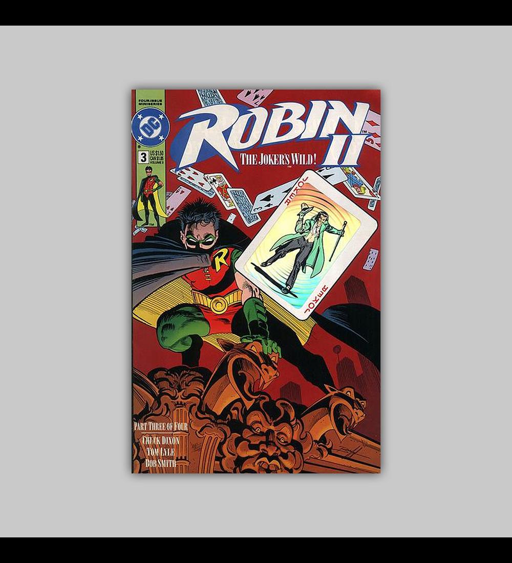 Robin II: The Joker's Wild! 3 B Hologram 1991