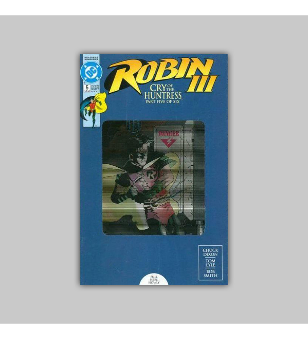 Robin III 5 Colector's Edition VF 8.0 1993