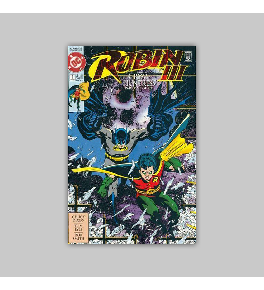 Robin III: Cry of the Huntress (complete limited series) 1993