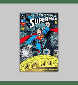 The Adventures of Superman 505 Foil 1993