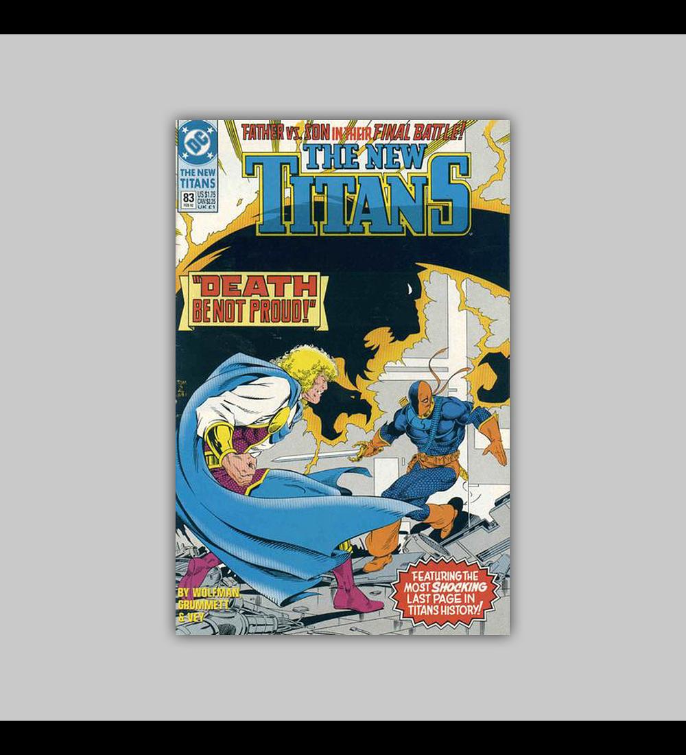 The New Titans 83 1992