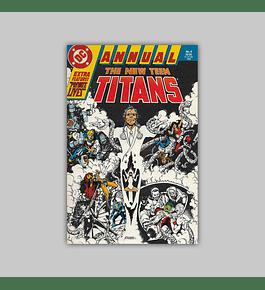 The New Titans Annual 4 1988