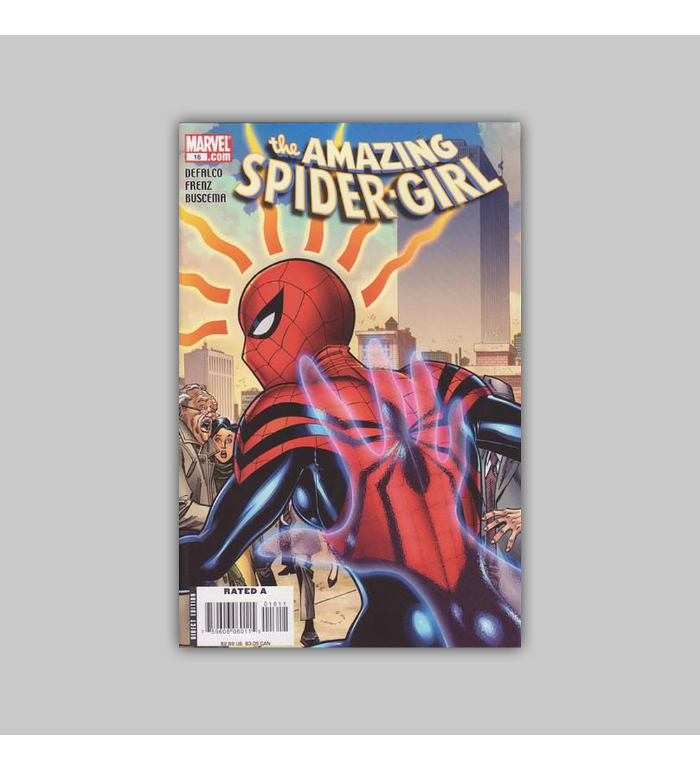 Amazing Spider-Girl 16 2008