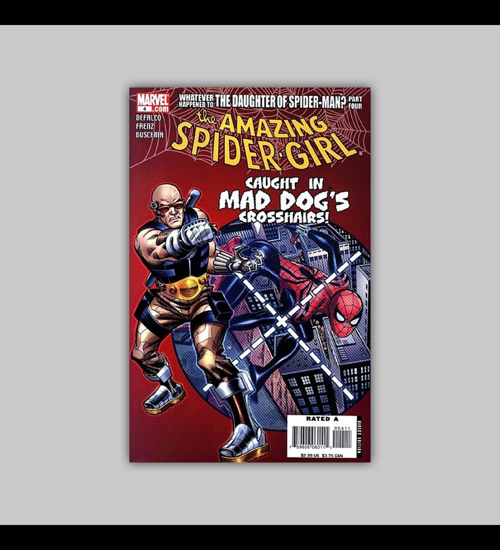 Amazing Spider-Girl 4 2007