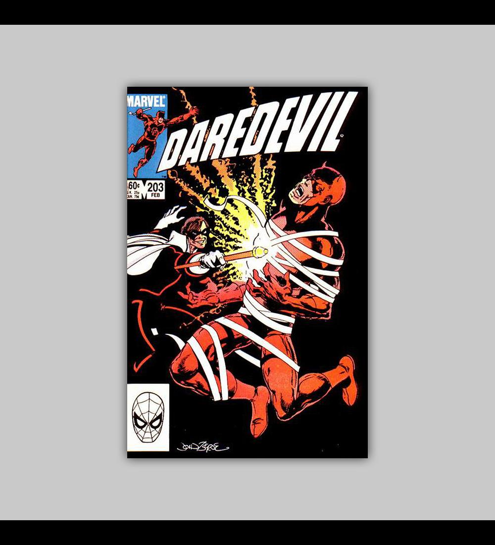 Daredevil 203 1984