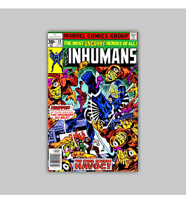 Inhumans 10 VF + (8.5) 1977