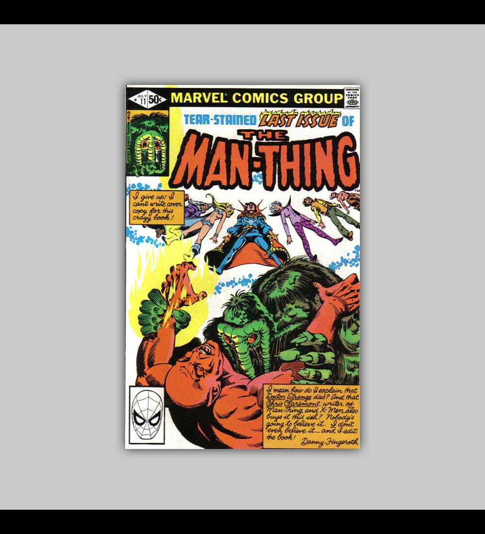 Man-Thing 11 VF+ (8.5) 1981