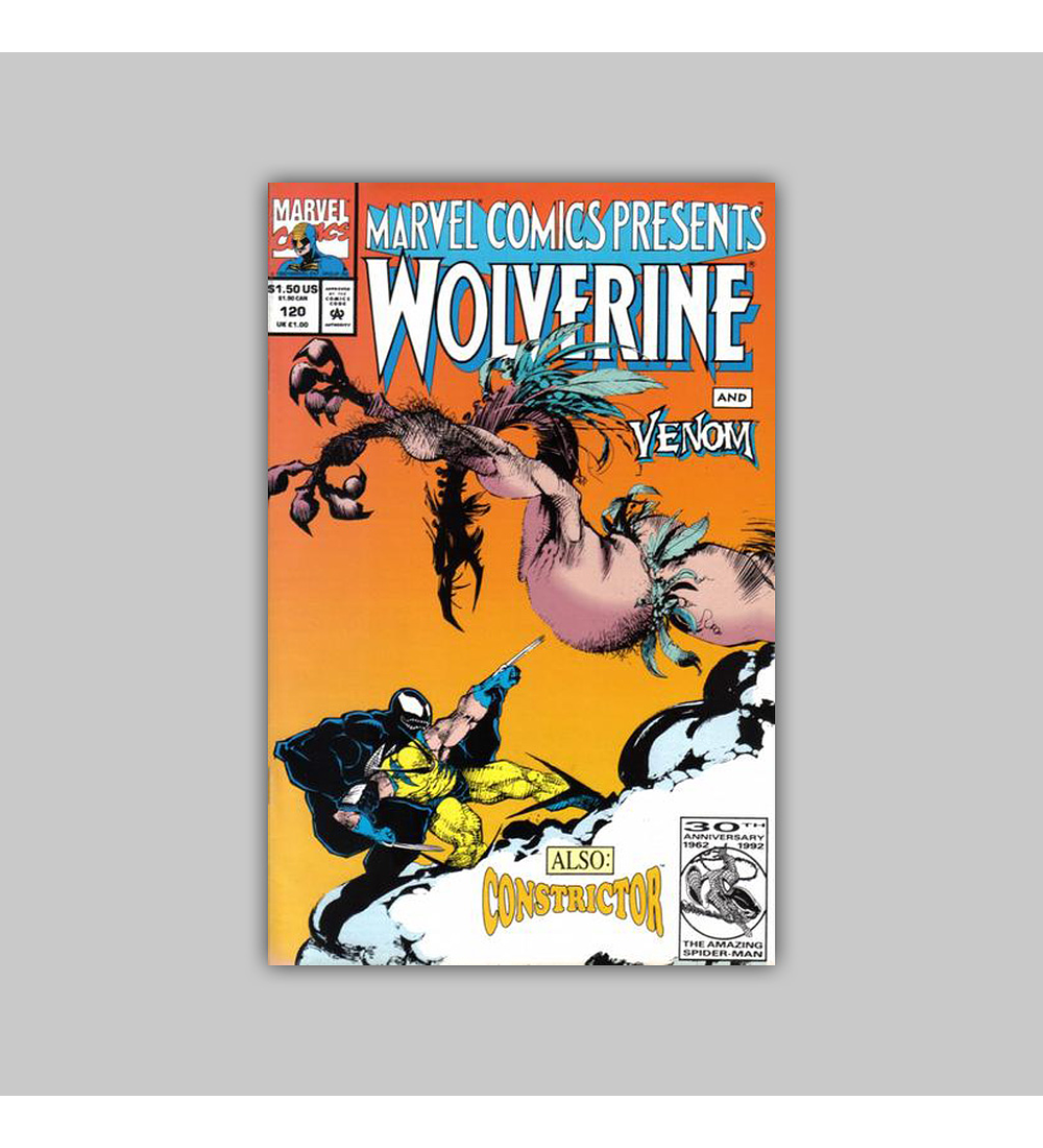 Marvel Comics Presents 120 1992