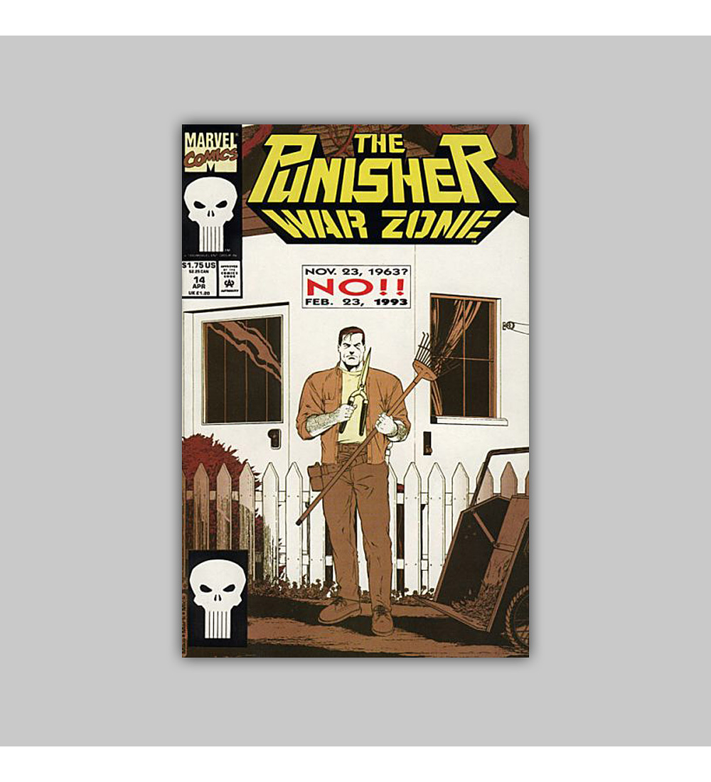 The Punisher War Zone 14 1993