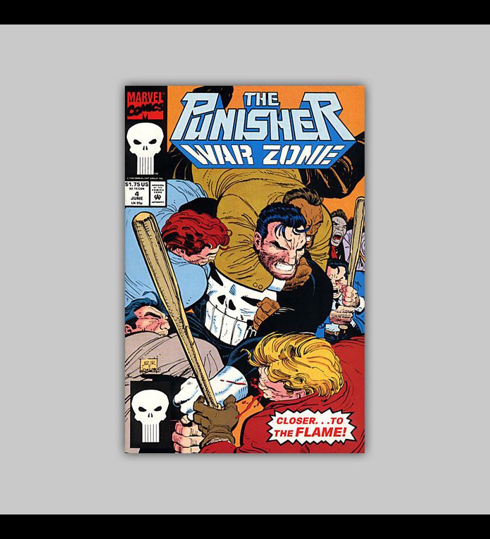 The Punisher War Zone 4 1992