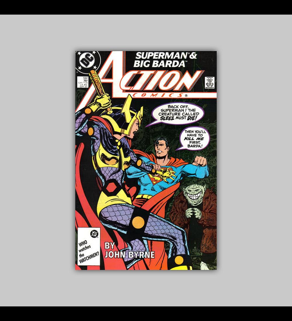 Action Comics 592 1987