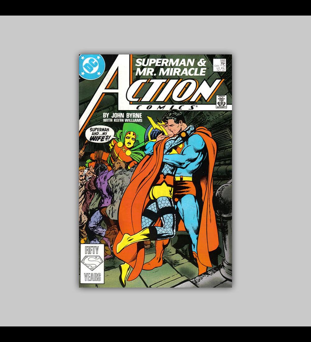 Action Comics 593 1987