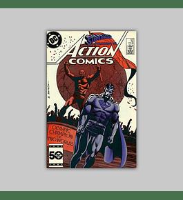 Action Comics 574 VF+ (8.5) 1985