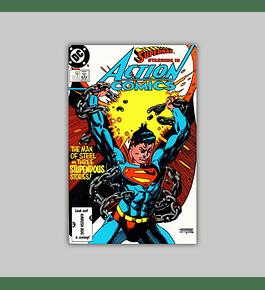 Action Comics 580 1986