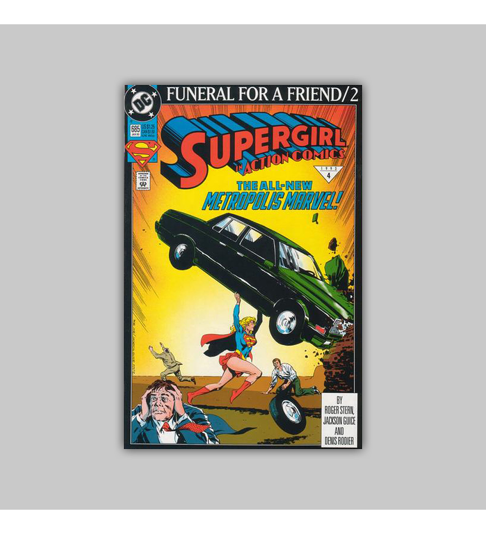 Action Comics 685 1993