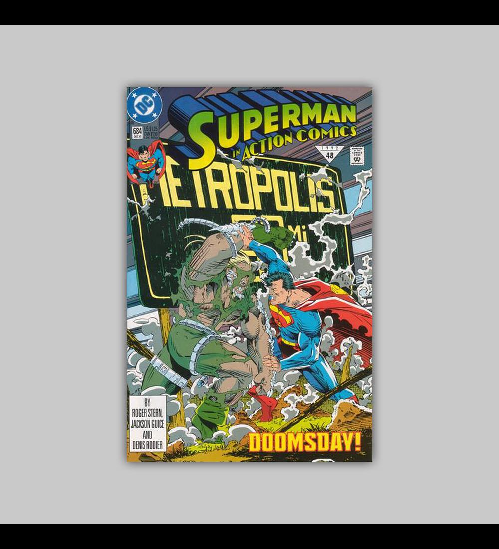 Action Comics 684 1992