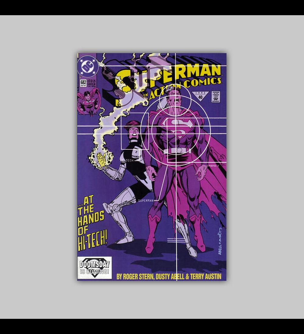 Action Comics 682 VF (8.0) 1992