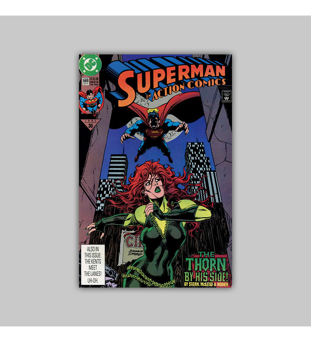 Action Comics 669 1991