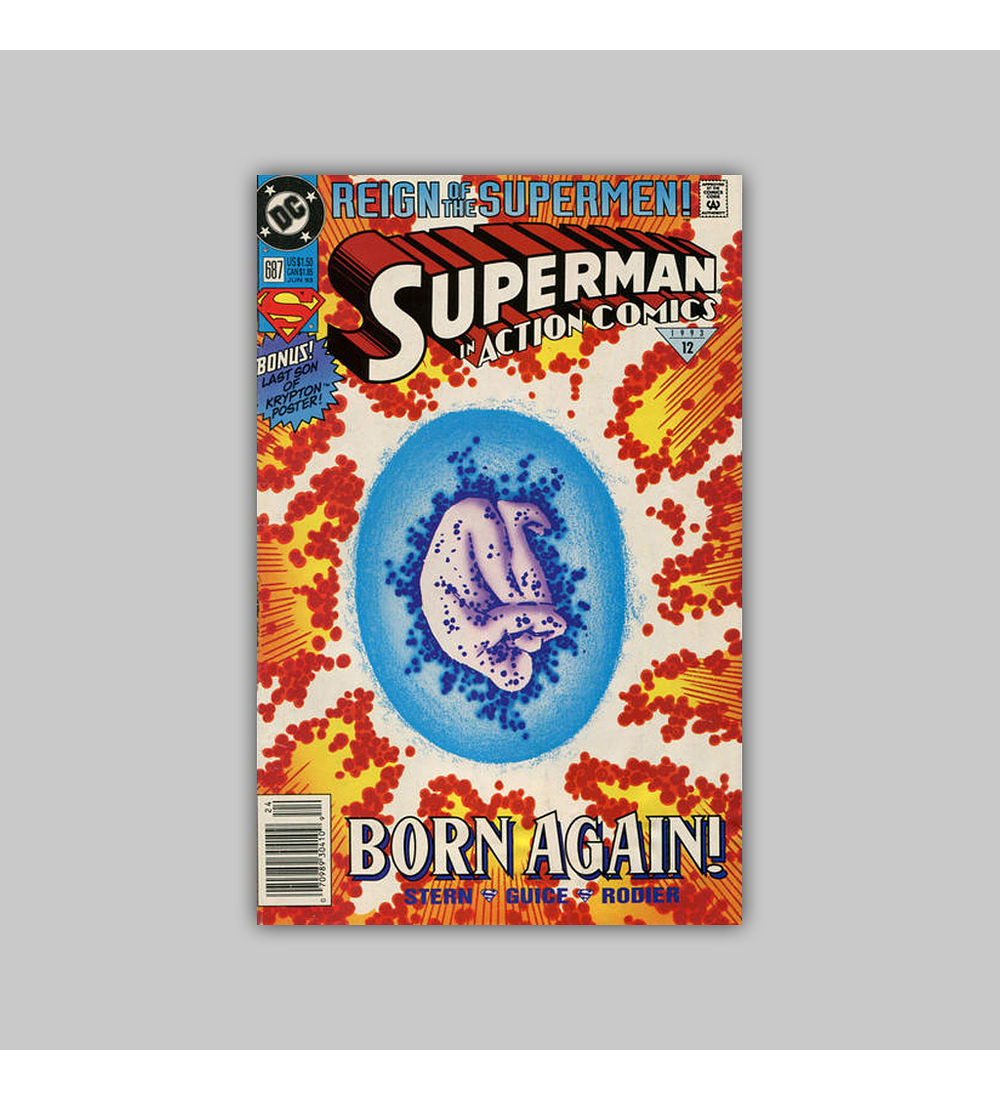 Action Comics 687 1993
