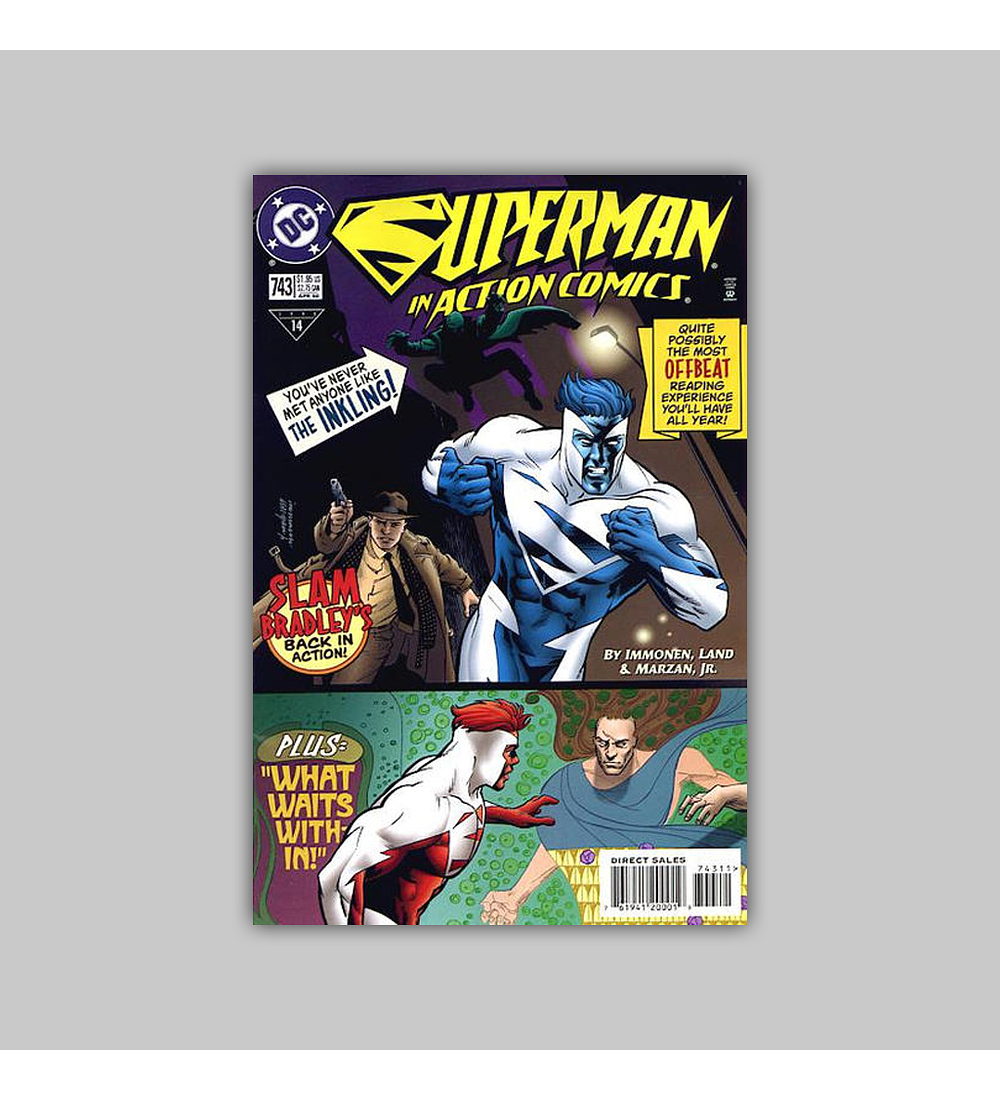 Action Comics 743 1998