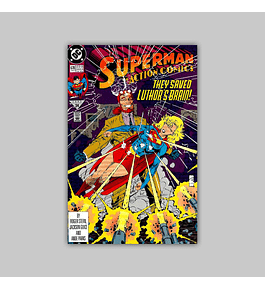 Action Comics 678 VF (8.0) 1992