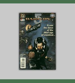 Babylon 5 1 VF/NM (9.0) 1995